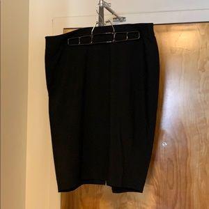 Nygard Black Label black pencil skirt size 14